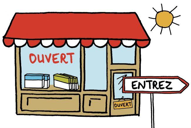 La boutique magique est ouverte