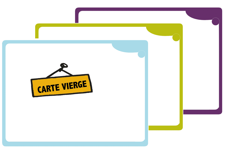 Cartes vierges