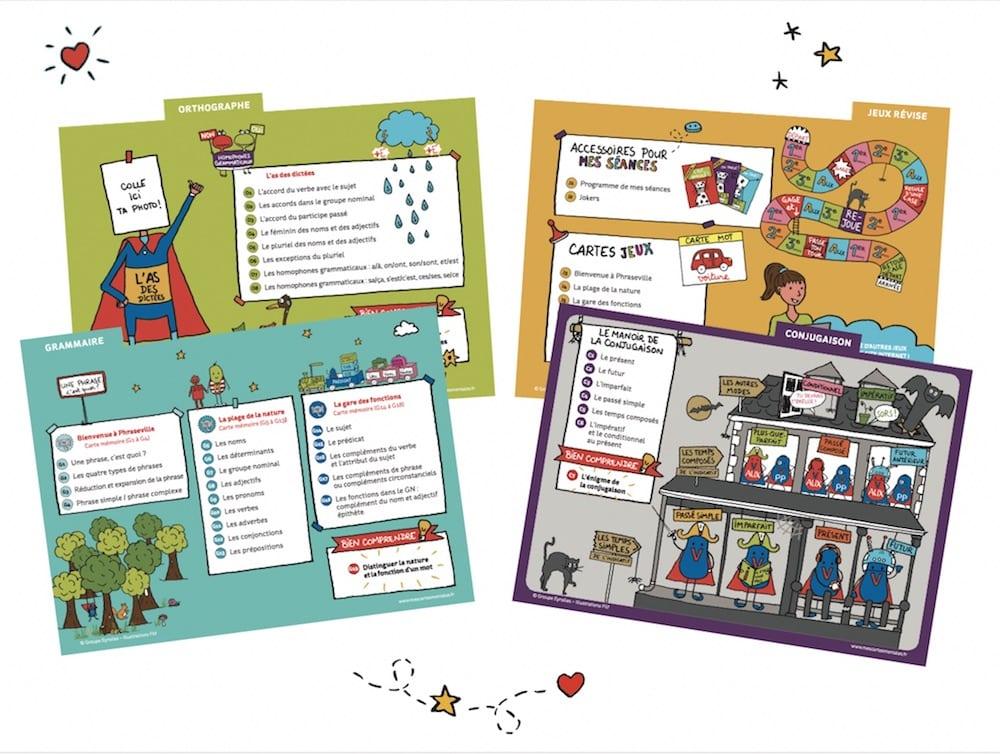 4-coffret-carte-mentale-mes-leçons-de-français-sommaire - copie