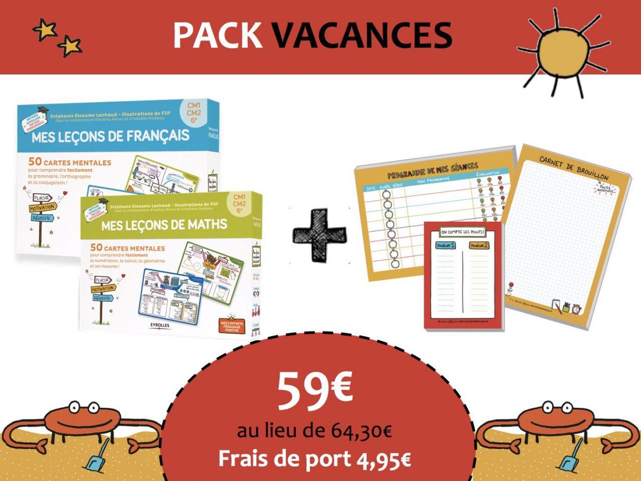 Pack vacances