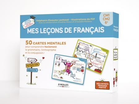 Coffret-carte mentale mes leçons de français
