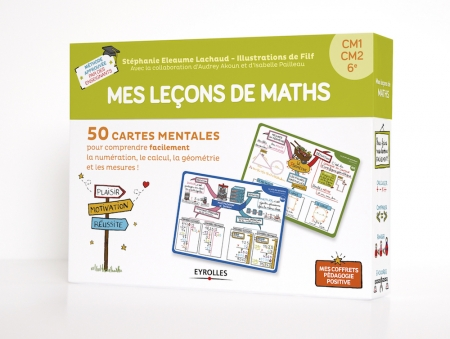 Coffret carte mentale mes leçons de maths