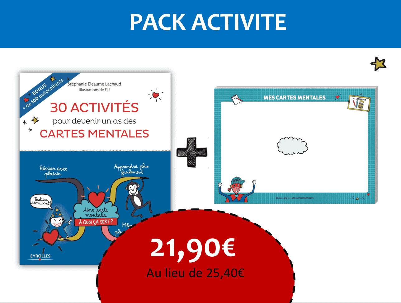 Pack Cahier activites