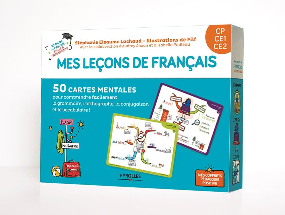 Mon coffret de cartes mentales français CP, CE1, CE2