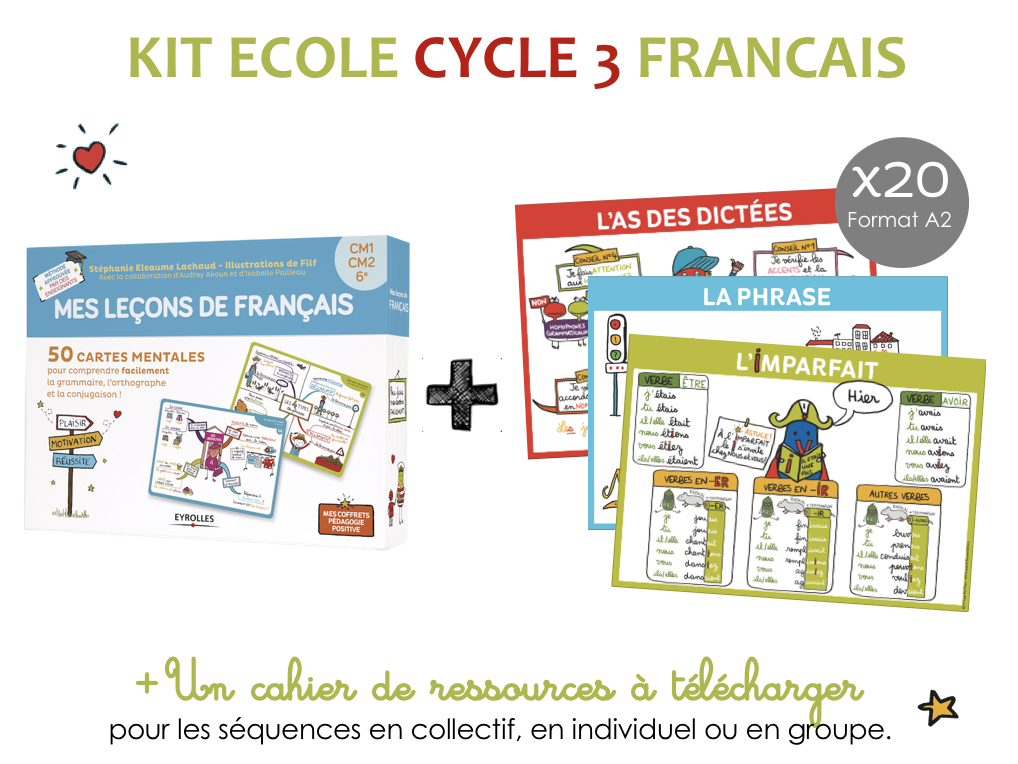 Kit ecole francais cycle 3