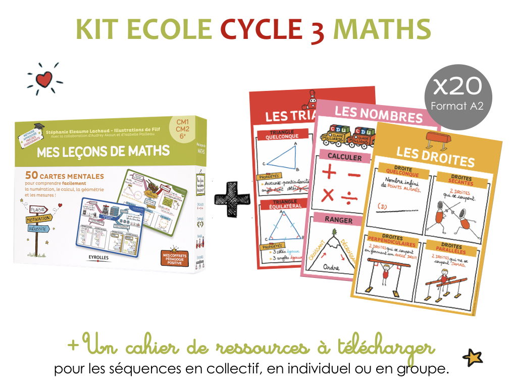 Kit ecole maths cycle 3