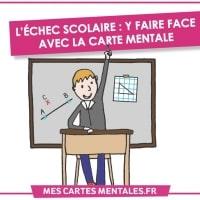 L'echec scolaire-carte mentale