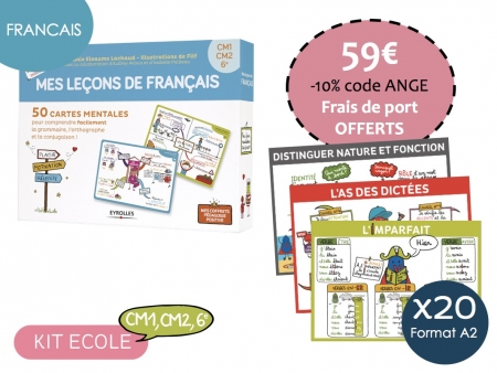 Kit Ecole Français-Cycle 3 CM1, CM2, 6e