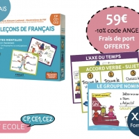 Kit Ecole Francais-Cycle 2 CP, CE1, CE2