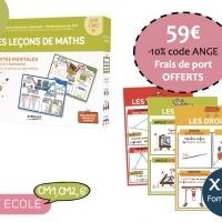 Kit Ecole Maths-Cycle 3 CM1,CM2, 6e