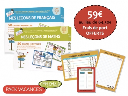 Pack Vacances cycle 3 - CM1, CM2, 6e