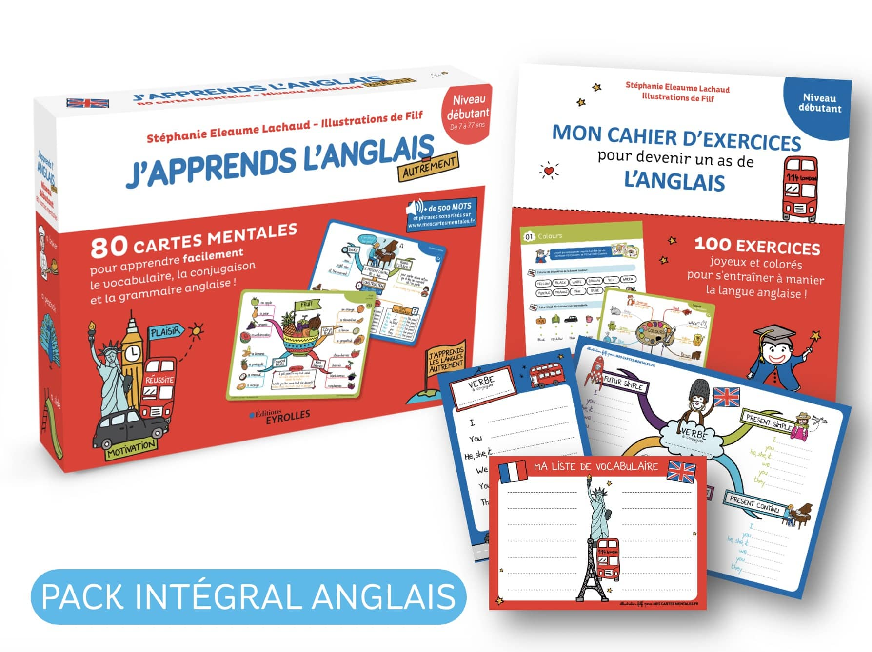 Pack intégral Anglais