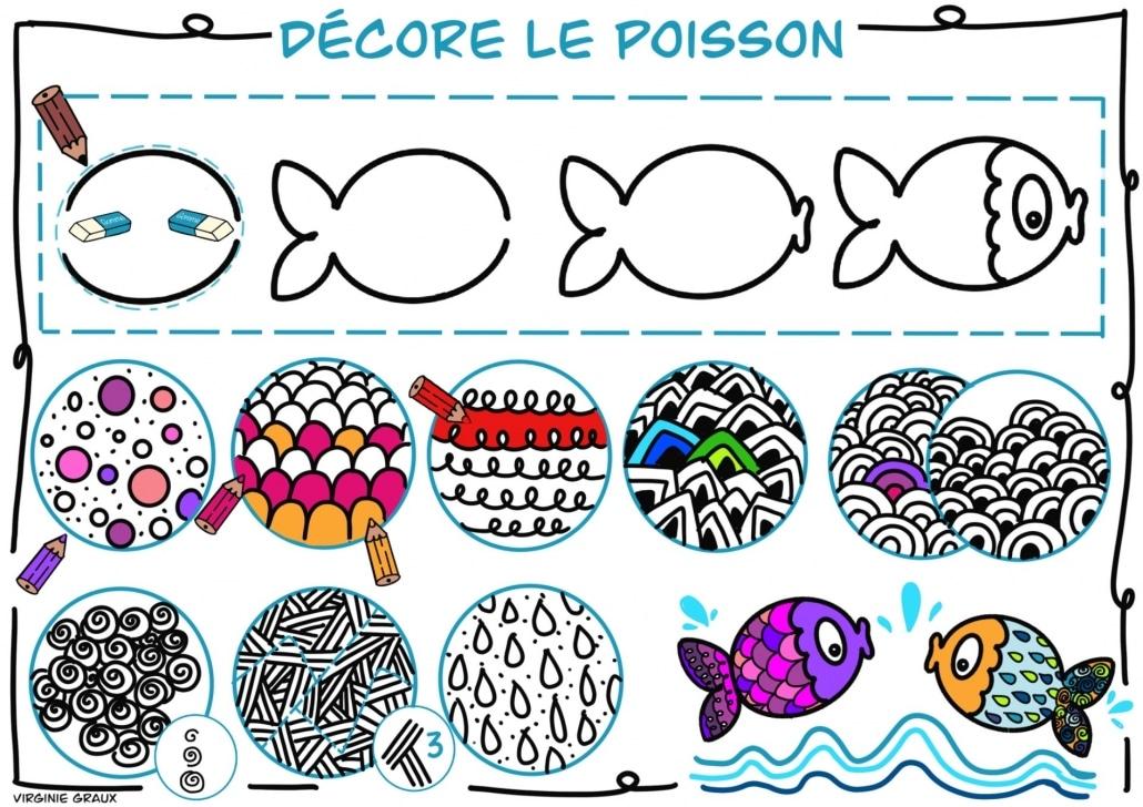 Decore ton poisson
