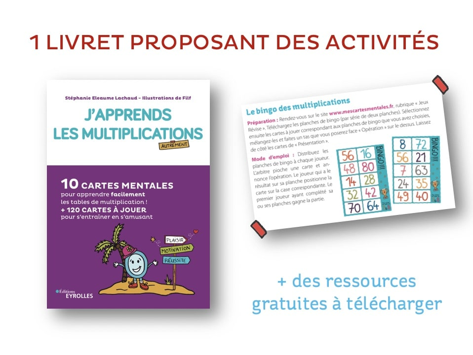 J'apprends les multiplications-Livret