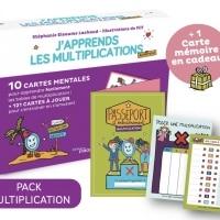 J'apprends les multiplications-Pack