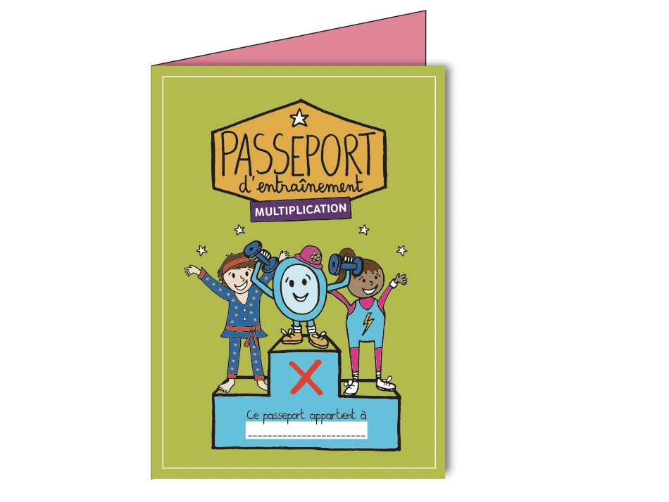 J'apprends les multiplications-Passeport