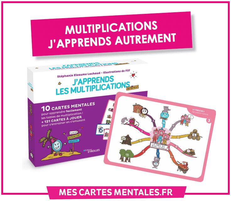 Memoriser Ses Tables De Multiplications Avec La Carte Mentale