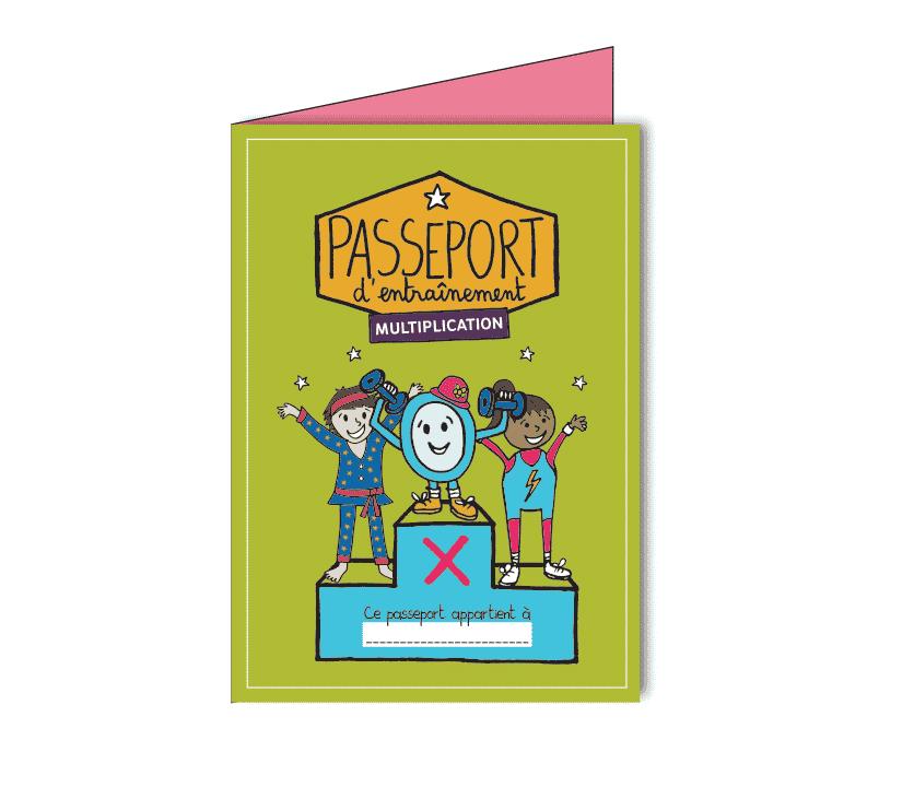 Ressource table de multiplication - Passeport