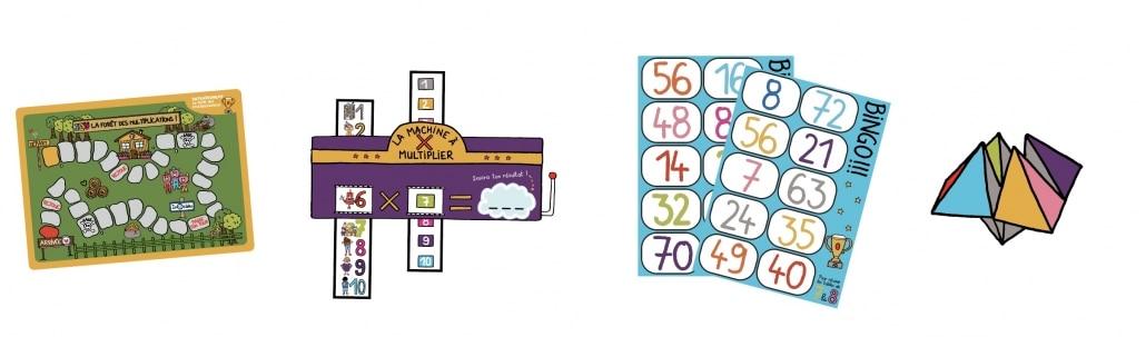 S'entrainer aux tables de multiplication
