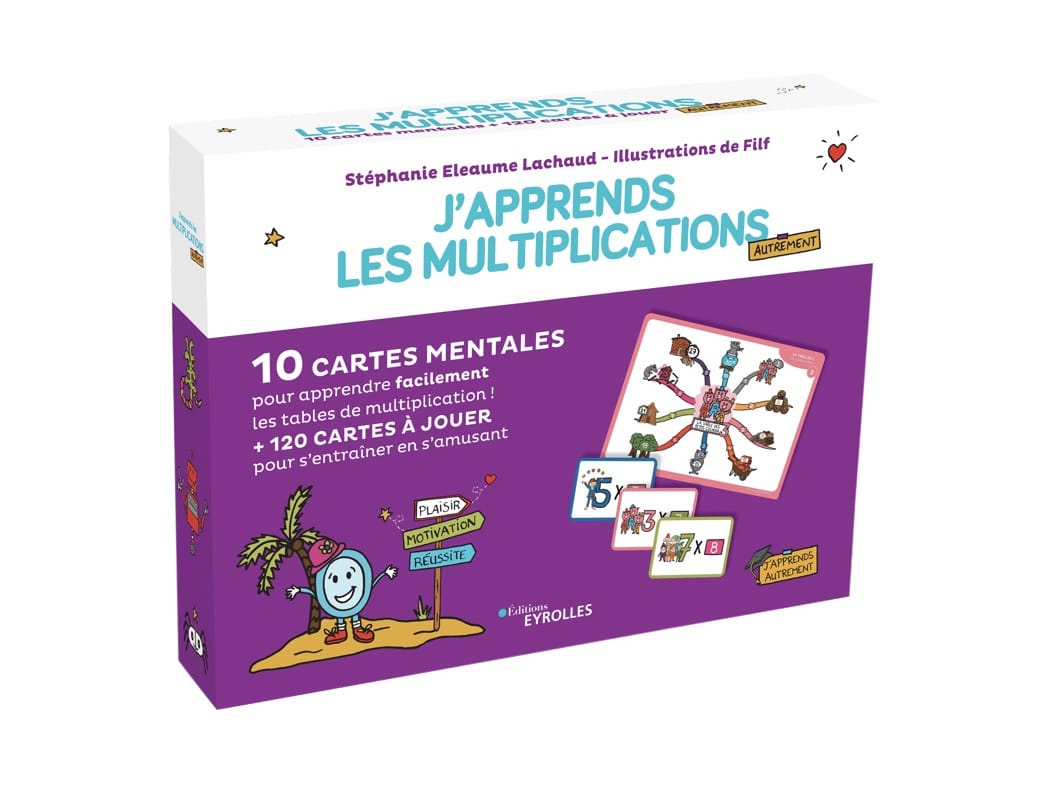Coffret j'apprends les multiplications