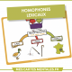 Homophones lexicaux Cane canne Cannes