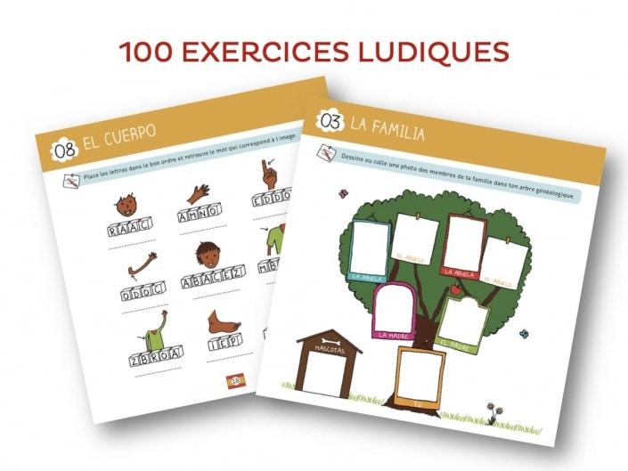 100 exercices d'espagnol