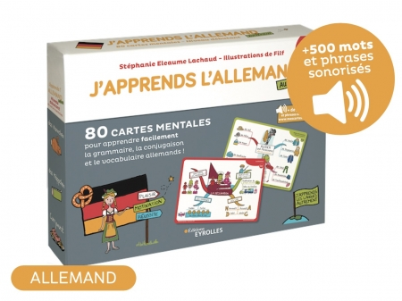 Coffret j'apprends l'allemand