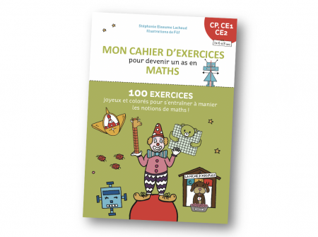 Cahier d'exercices Maths Cartes mentales