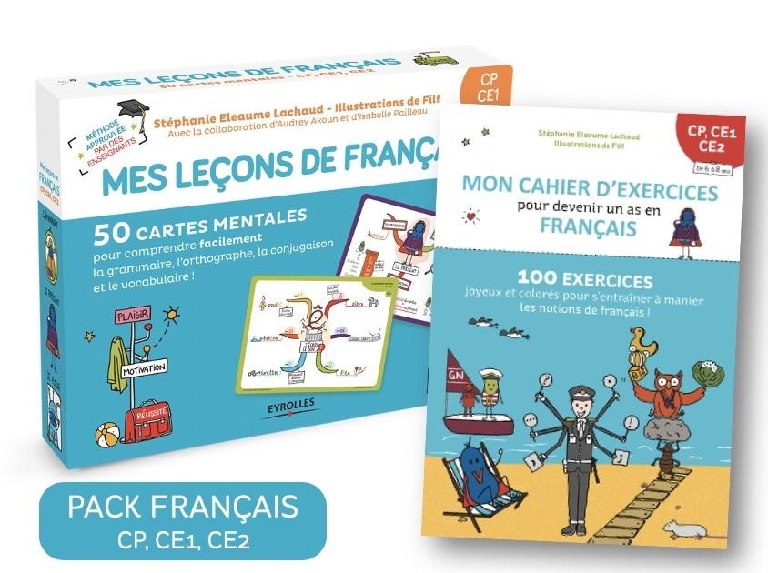 Carte Mentale Francais Cp Ce1 Ce2 Cahier D Exercices