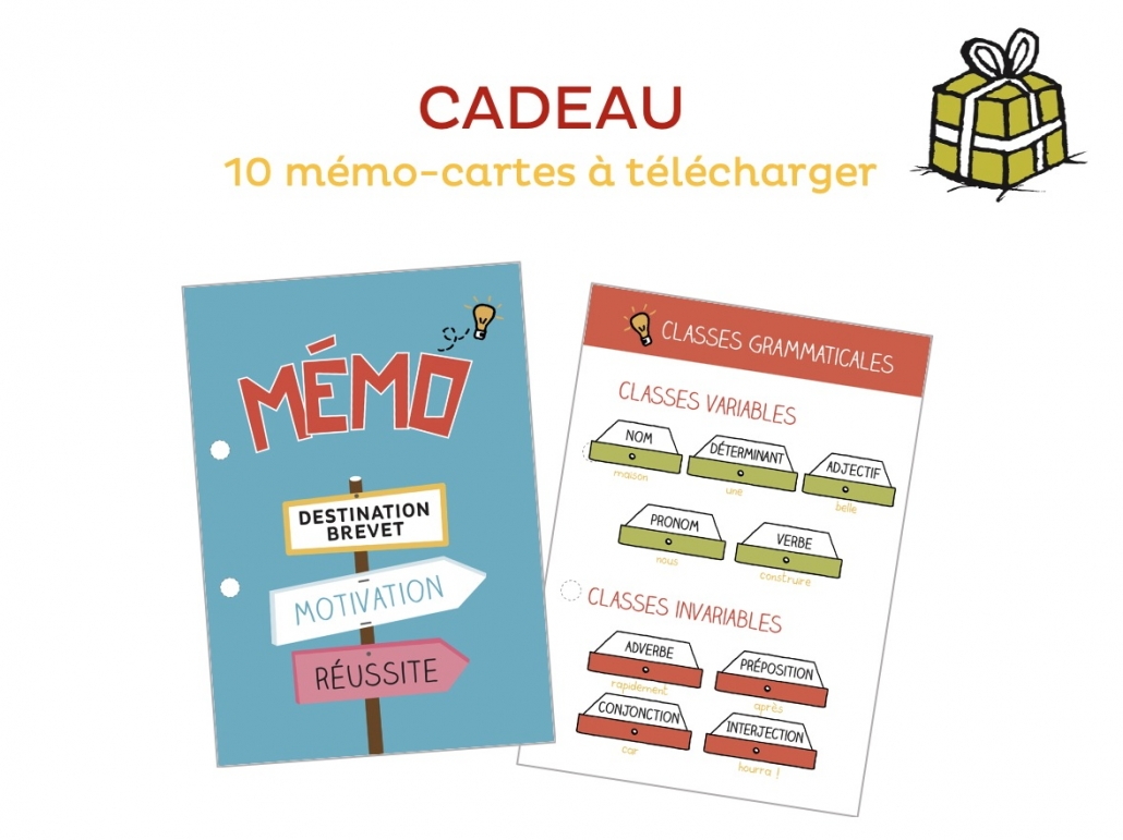 Mémo Cartes français collège