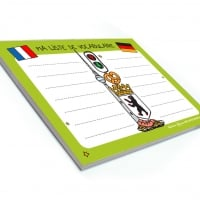 Bloc-notes vocabulaire allemand